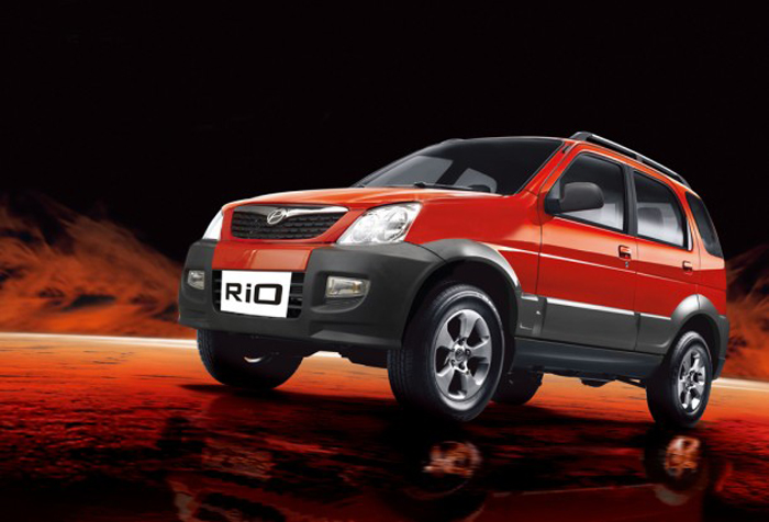 2011 Premier Rio Compact SUV Petrol 2011 Premier Rio with a Compact Car Upgradation Kit