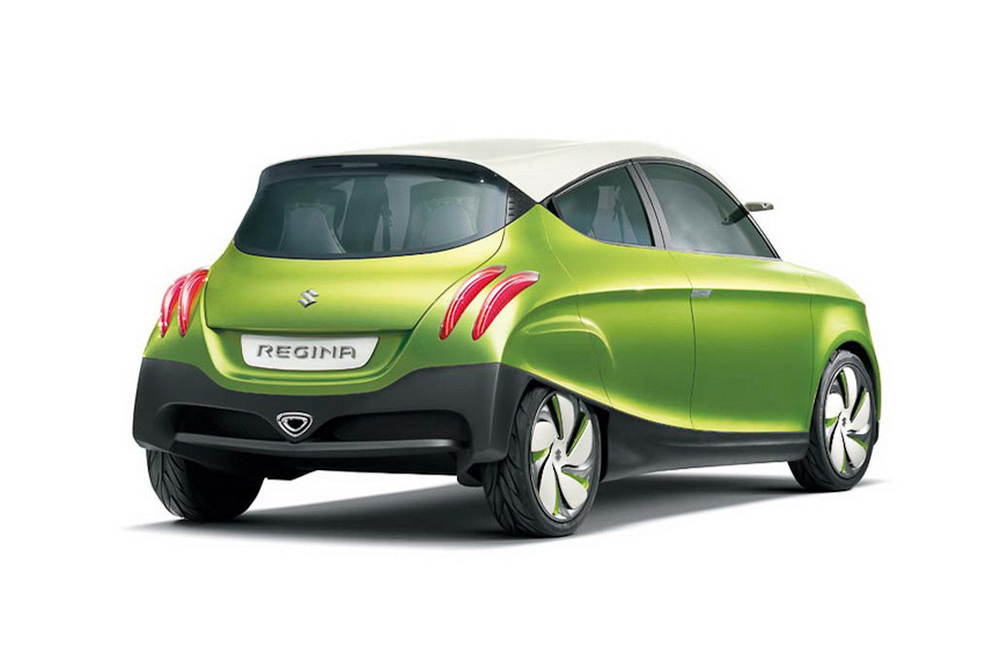 2011 Suzuki Regina Concept 2011 Suzuki to Backfire Regina Concepts to Arrest the Attention of Car Lovers