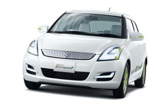 2011 Suzuki Swift EV Hybrid Concept 2 2011 Suzuki Regina, Q and Swift EV Hybrid Concepts   More Sophisticated in Designs