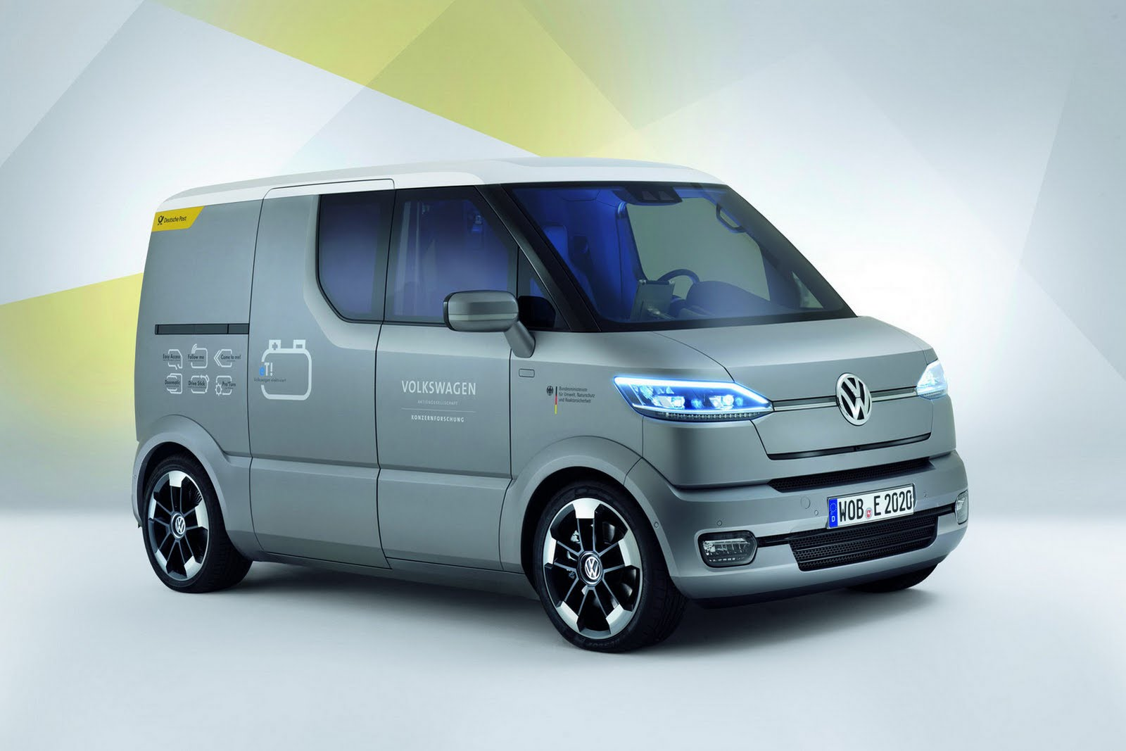 2011 volkswagen s new et concept van. Black Bedroom Furniture Sets. Home Design Ideas