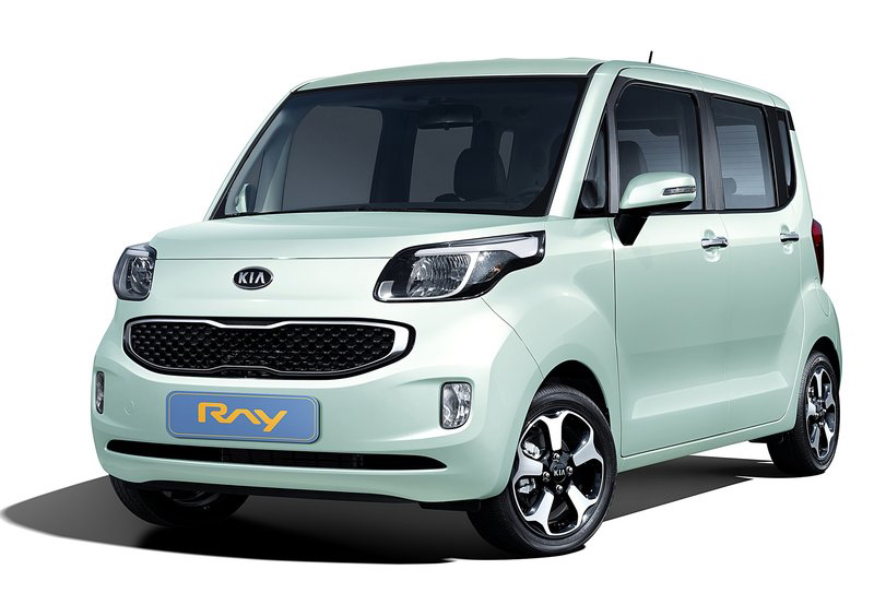 2012 Kia Ray Compact 2012 Kia Ray Compact to Be Launched in Korean Market