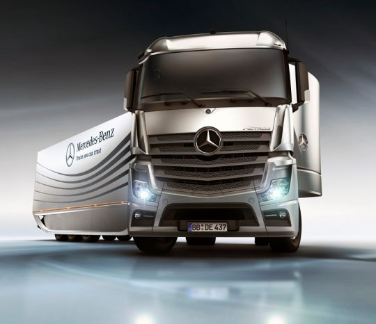 2012 Mercedes Benz Aero Trailer Concept 2012 Mercedes Aerodynamic Articulated Vehicle – A Review