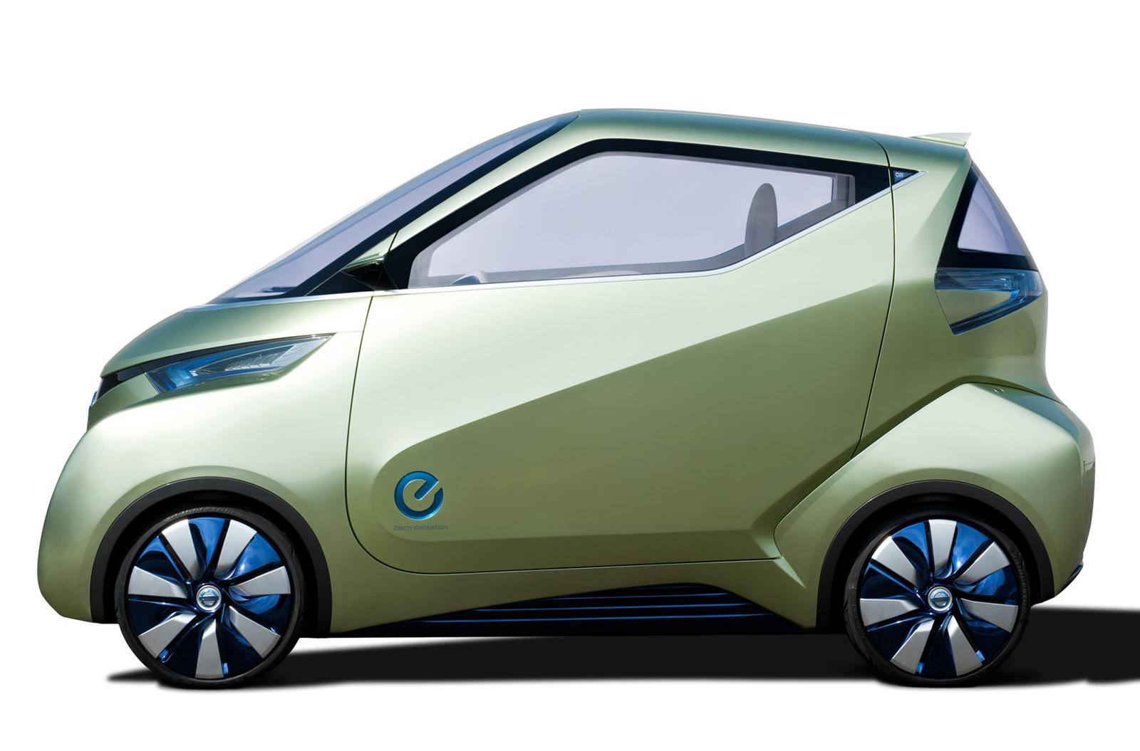 2012 Nissan Pivo 3 EV Concept 2 2012 Nissan Pivo 3 EV Concept  A Review