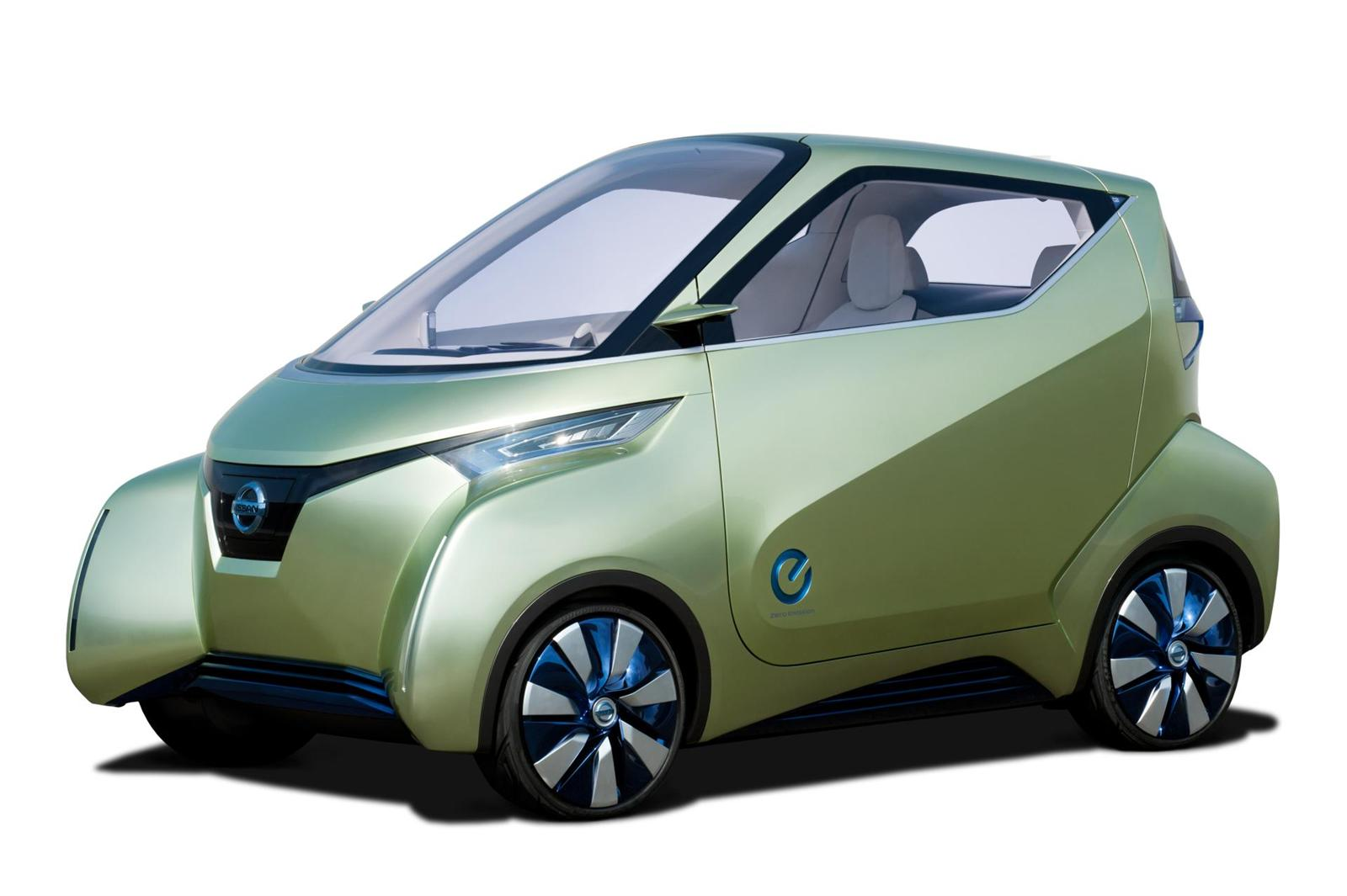 2012 Nissan Pivo 3 EV Concept 2012 Nissan Pivo 3 EV Concept  A Review