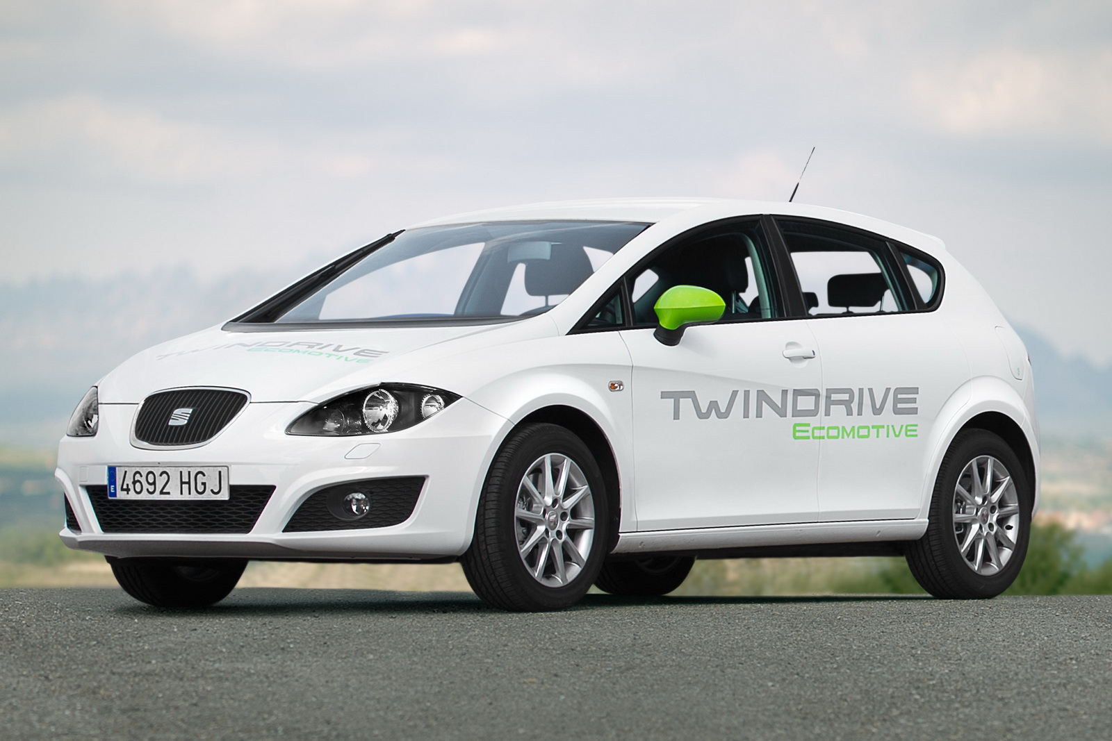 2012 Seat Pure Electric and Plug in Hybrid 5 Seat Wrapped off New Pure Electric and Plug in Hybrid Prototypes