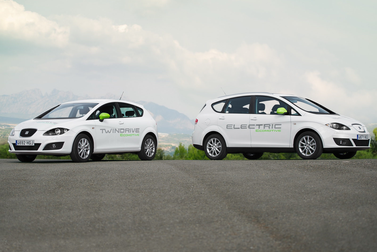 2012 Seat Pure Electric and Plug in Hybrid Seat Wrapped off New Pure Electric and Plug in Hybrid Prototypes