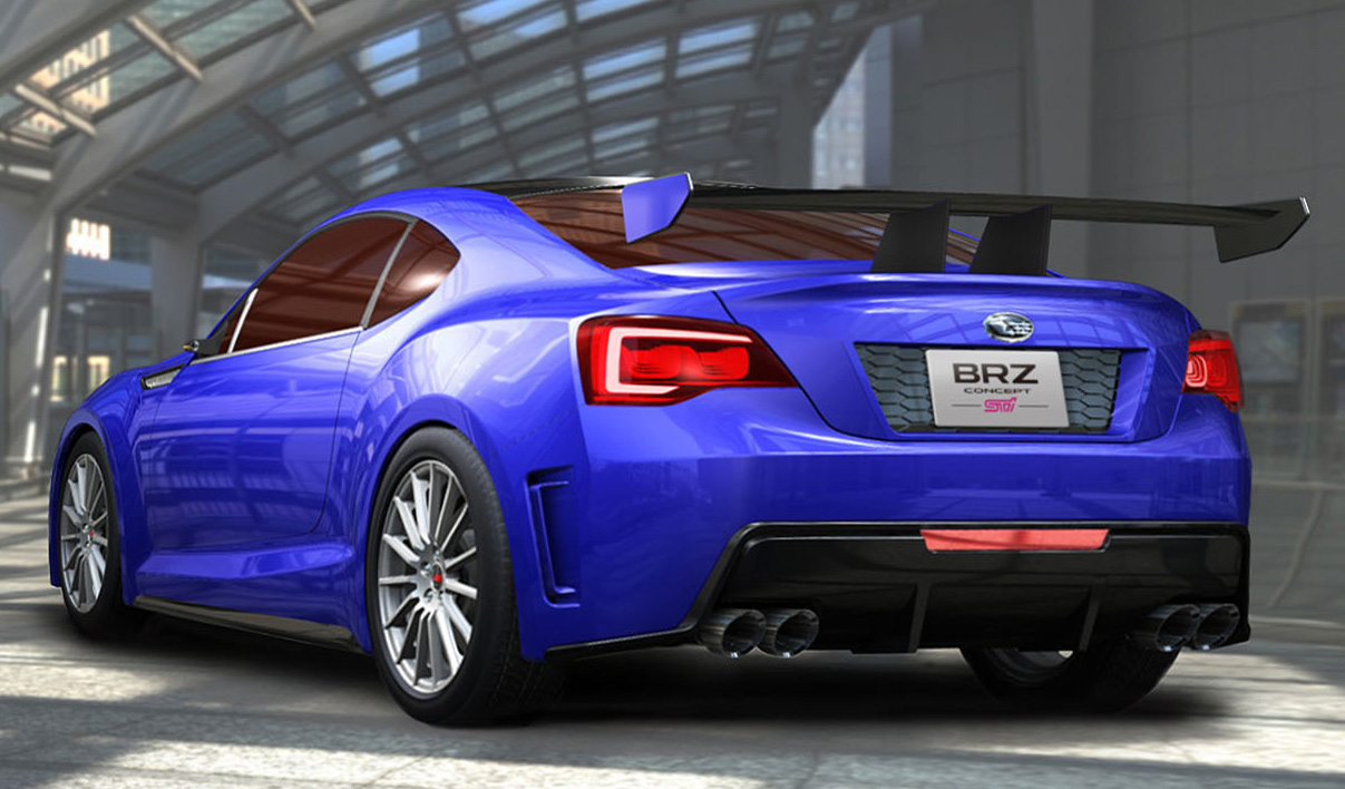 2012 Subaru BRZ Concept STI 1 2012 Subaru BRZ Concept STI Coupe–More Eco friendly