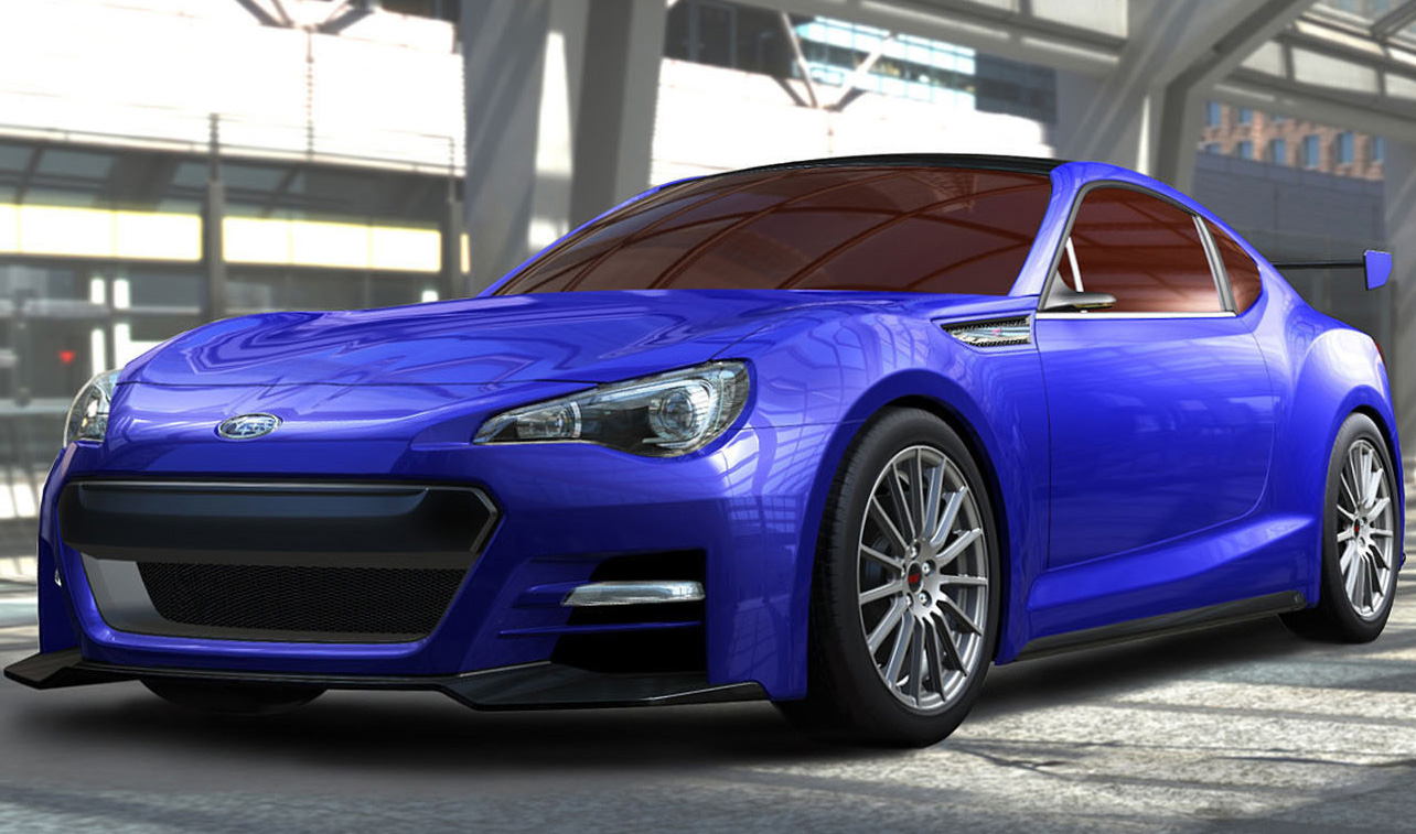 2012 Subaru BRZ Concept STI 2012 Subaru BRZ Concept STI Coupe–More Eco friendly