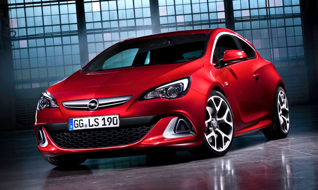 2012 opel astra opc 2012 Opel Astra OPC Generates 280 horsepower with 155 mph Speed