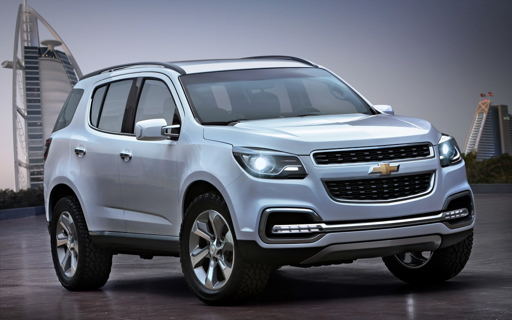 2013 Chevrolet TrailBlazer Concept 2013 Chevrolet TrailBlazer Concept