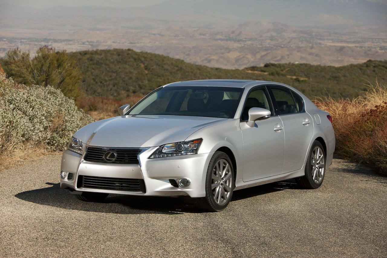 2013 Lexus GS 250 2013 Lexus GS 250 unveiled before its debut