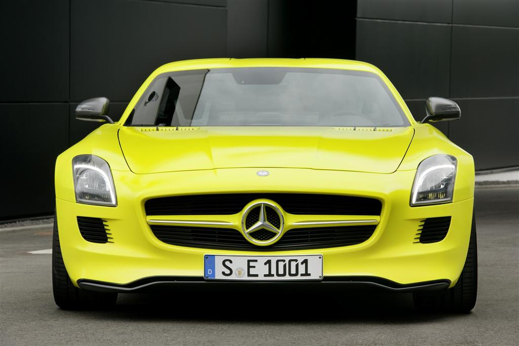 2013 Mercedes Benz SLS AMG E Cell The future of 2013 Mercedes Benz AMG starts with all electric SLS E Cell