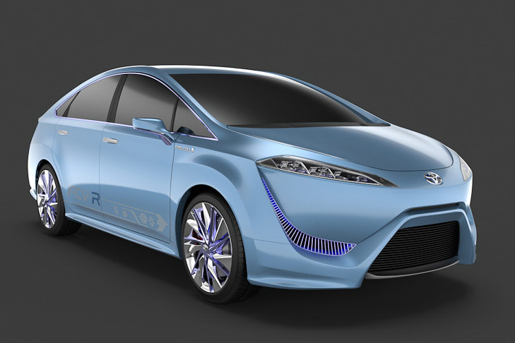 2015 Toyota FT EV III and FCV R Conecpts Toyotas FT EV III and FCV R models to Be Gifted to People by 2015