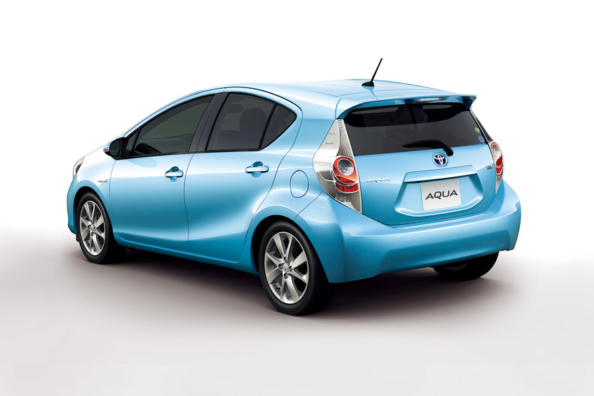 New Toyota Aqua Japan 1 In Japan It Is Aqua and in Rest of the World as Prius   Toyota to Launch These Sophisticated Cars