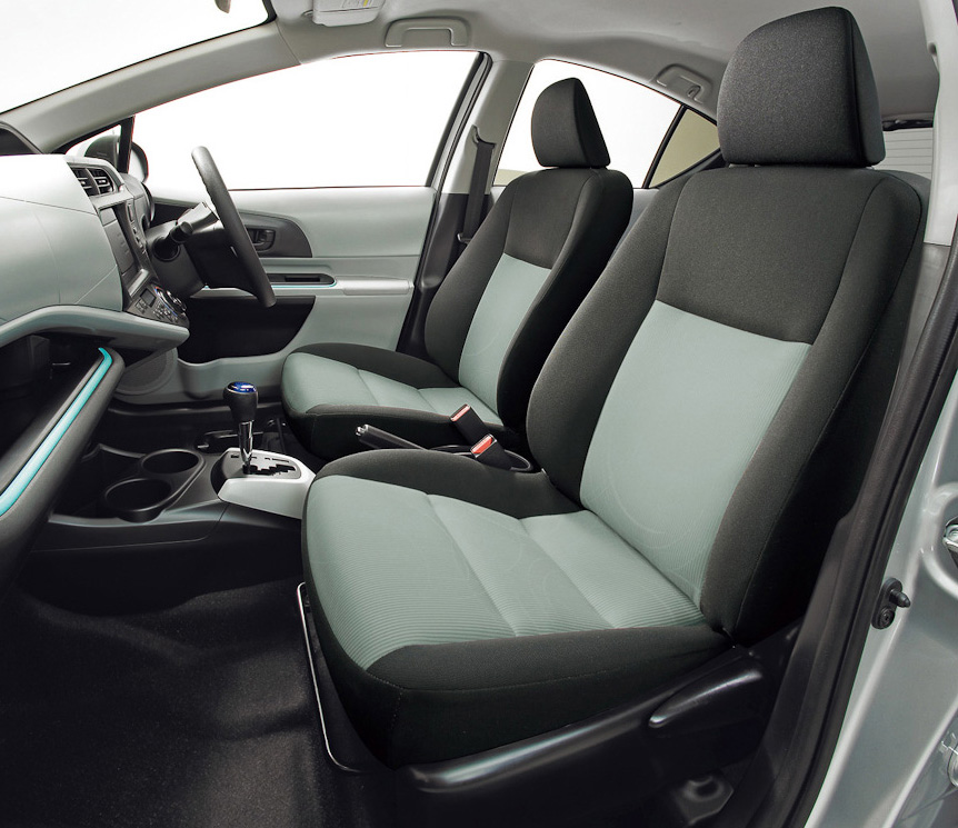 New Toyota Aqua Japan 3 In Japan It Is Aqua and in Rest of the World as Prius   Toyota to Launch These Sophisticated Cars