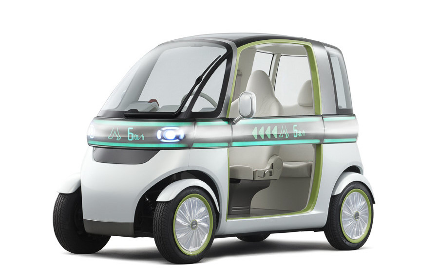 Tiny Daihatsu Pico EV Concept 1 2011 Tiny Daihatsu Pico EV Concept ready for launch