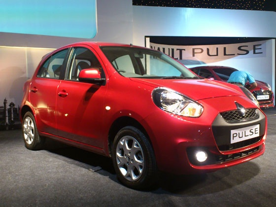 renaultpulse 560x420 560x420 Renault Pulse Small Car Unveiled in India for Hands on Exhibition