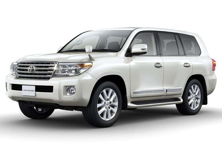 2012 Toyota Land Cruiser 200 Facelift Toyota to Revise Land Cruiser 200 for 2012