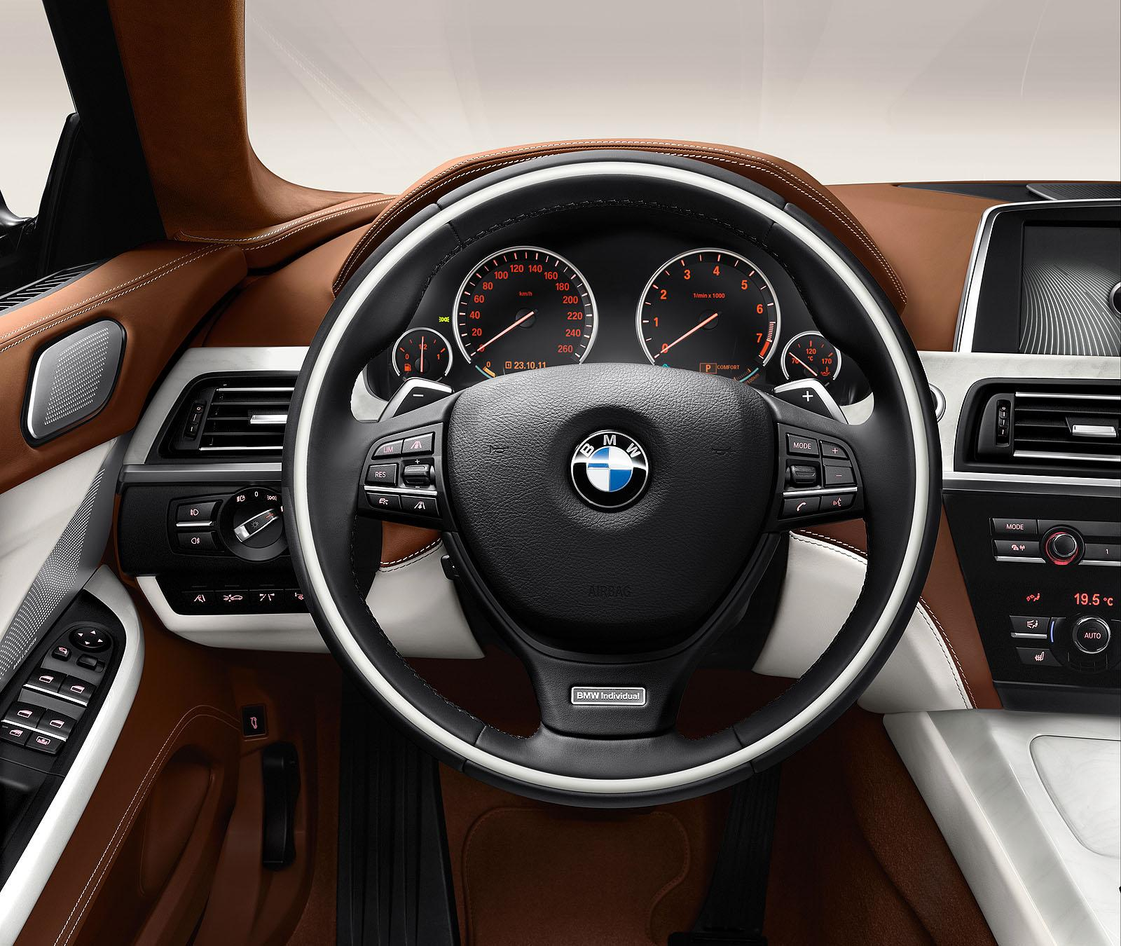 2013 BMW 6 Series Gran Coupe 5 2013 BMW 6 Series Gran Coupe with Child Restraint Systems