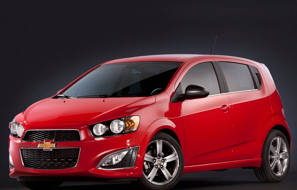 2013 Chevrolet Sonic RS 4 New 2013 Chevrolet Sonic RS – More Eco friendly