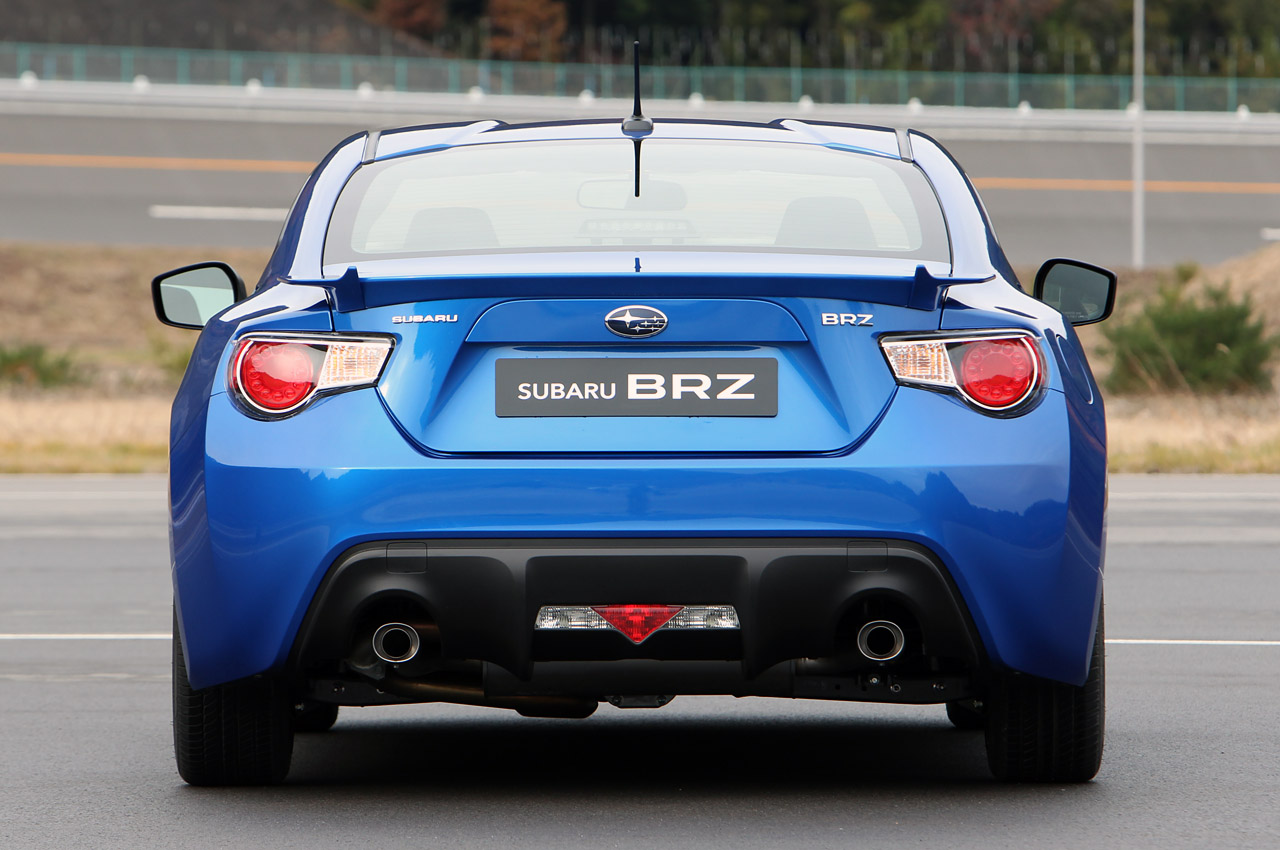 2013 subaru brz 5 2013 Subaru BRZ  B for Boxer, R Rear Wheel Drive and Z for Zenith