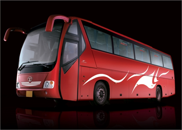 Tata LPO 1628 DIVO Coach big 280511 2011 Tata Divo   Luxurious Intercity Bus to Be Backfired to Indian Market