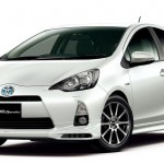 Toyota Aqua Prius C with TRD and Modellista versions