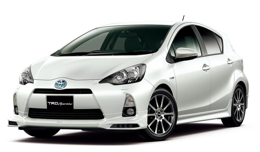 Toyota Aqua Prius C with TRD and Modellista versions TRD and Modellista to Be Launched Shortly by TMC