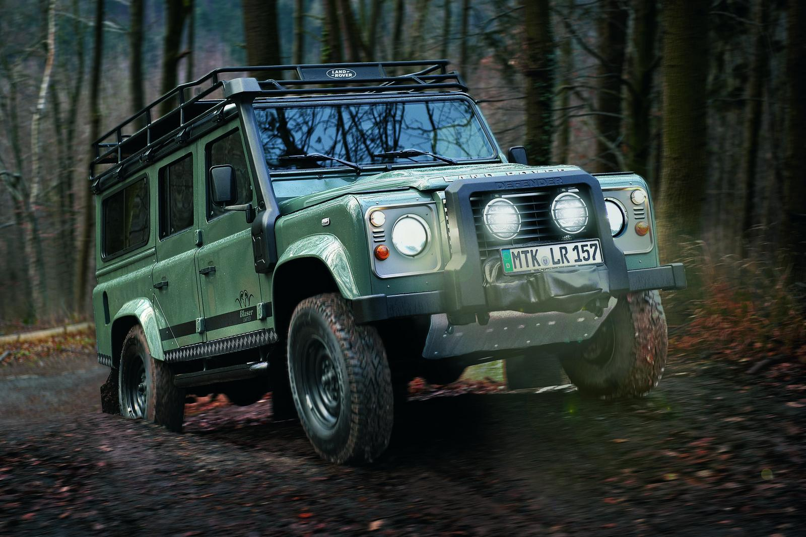 2012 Land Rover Defender Blaser Edition Revealed