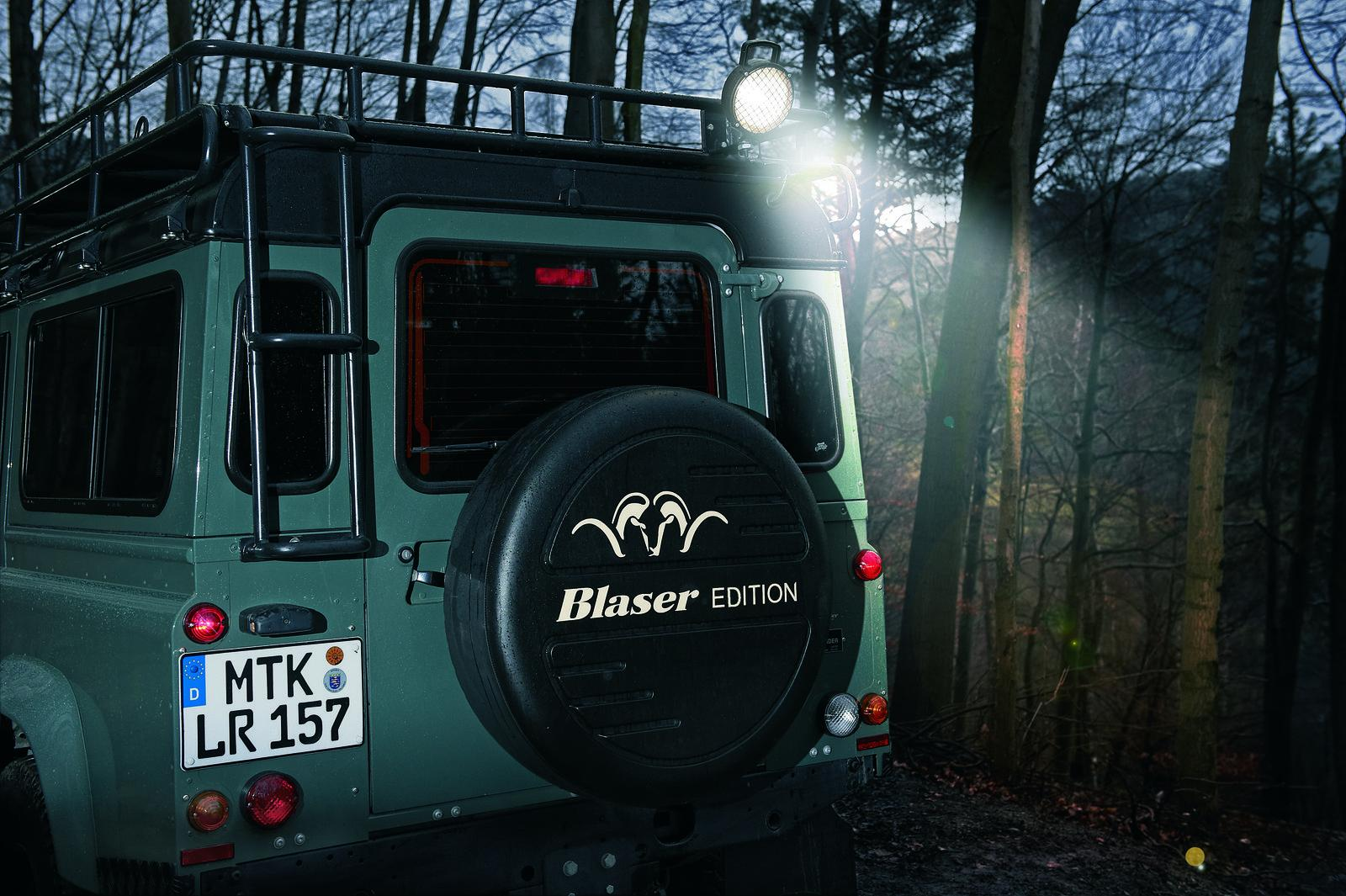 2012 Land Rover Defender Blaser Edition 4 2012 Land Rover Defender Blaser Edition revealed