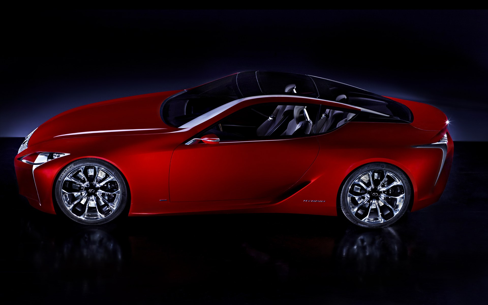 2012 Lexus LF LC Sports Coupe Concept 1 2012 Lexus LF LC Sports Coupe Concept   Glamorous, Eco friendly and Fuel Economic