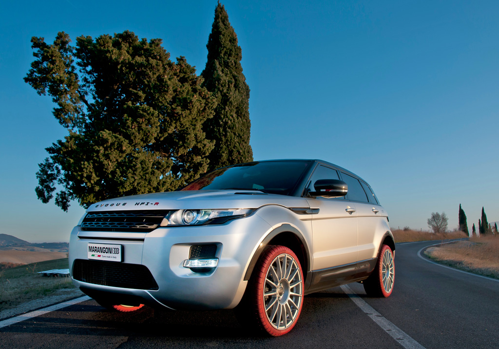2012 Marangoni Range Rover Evoque 2012 Marangoni Range Rover Evoque and Dynamic in Design
