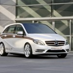 2012 Mercedes-Benz Concept B-Class E-CELL PLUS