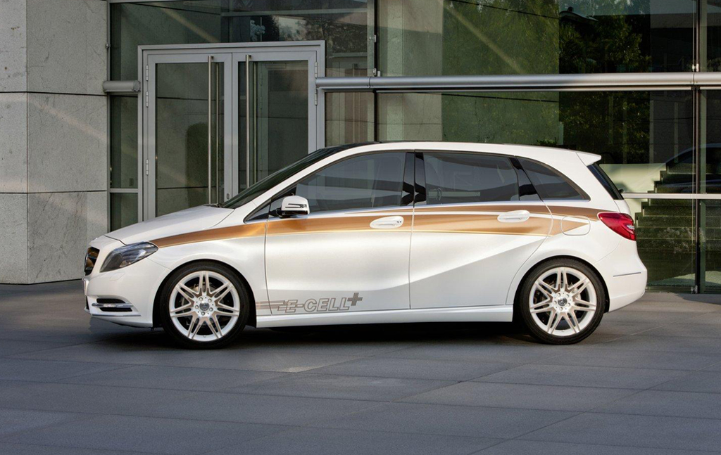 2012 Mercedes Benz Concept B Class E CELL PLUS 3 2012 Mercedes Benz Concept B Class E CELL PLUS coming to U.S