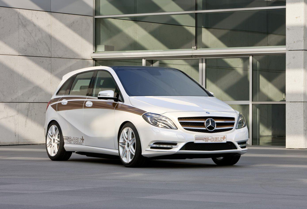2012 Mercedes Benz Concept B Class E CELL PLUS 2012 Mercedes Benz Concept B Class E CELL PLUS coming to U.S