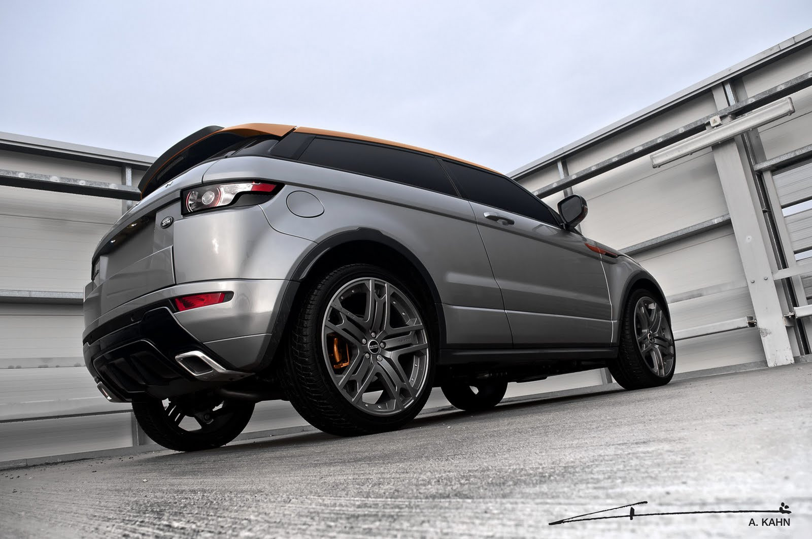 2012 Range Rover Evoque Project Kahn 2 2012 Range Rover Evoque Project Kahn   Energy Efficient with Powerful Street Nav System