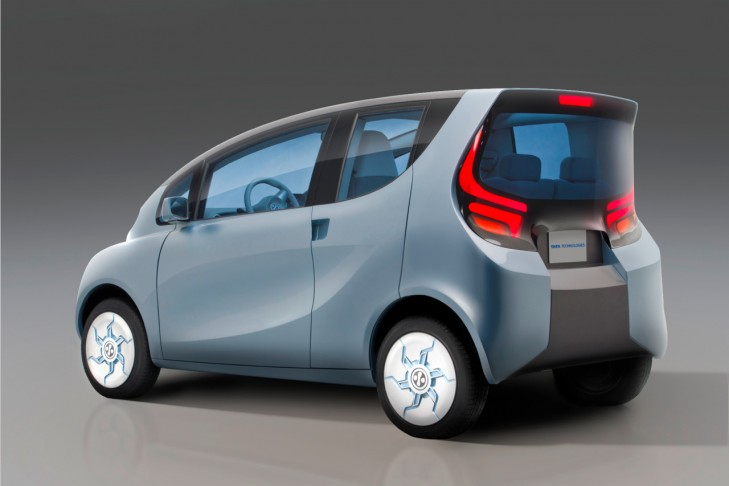 2012 Tata eMO Electric Concept 2 2012 Tata eMO Electric Concept with Spartan Wedge