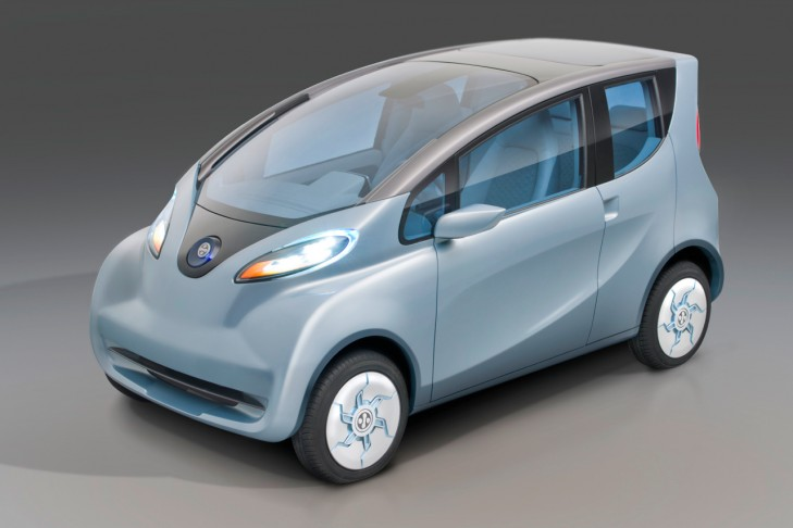 2012 Tata eMO Electric Concept 2012 Tata eMO Electric Concept with Spartan Wedge