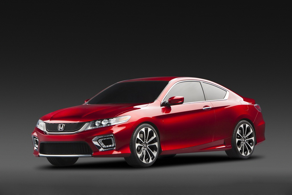 2013 Honda Accord Coupe Concept 2013 Honda Accord Coupe Concept   More Energy Efficient