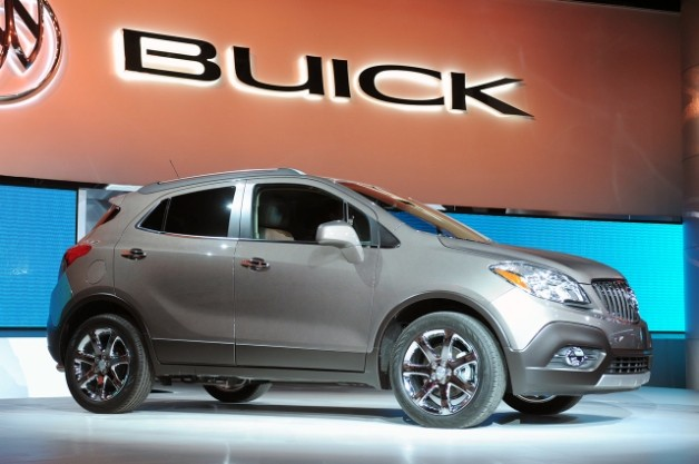 2013 buick encore detroit 2013 Buick Encore   A Small Crossover