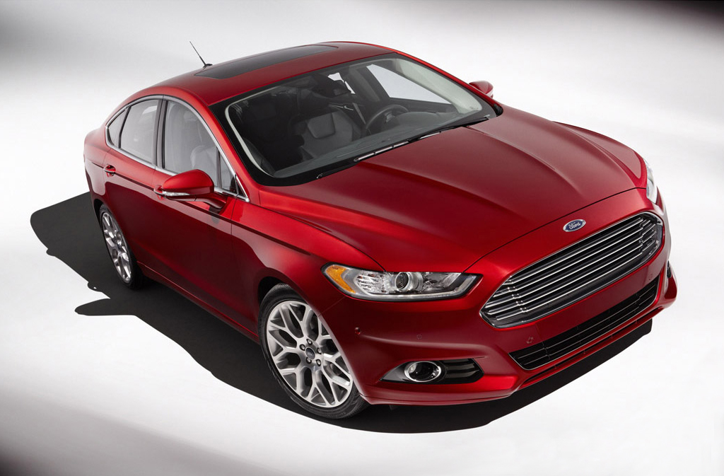 2013 ford fusion sedan 1 Fords Second Version of 2013 Fusion Sedan to Be Released Soon