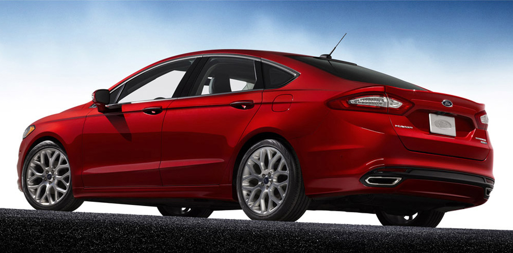 2013 ford fusion sedan 2 Fords Second Version of 2013 Fusion Sedan to Be Released Soon