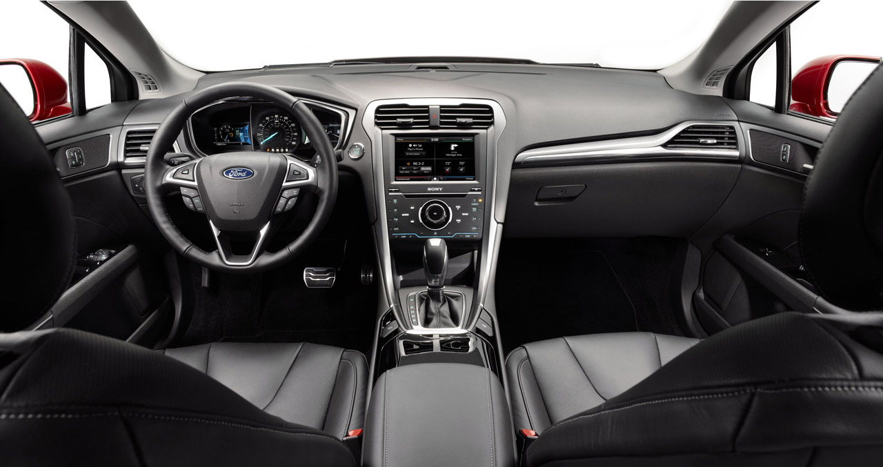 2013 ford fusion sedan 6 Fords Second Version of 2013 Fusion Sedan to Be Released Soon