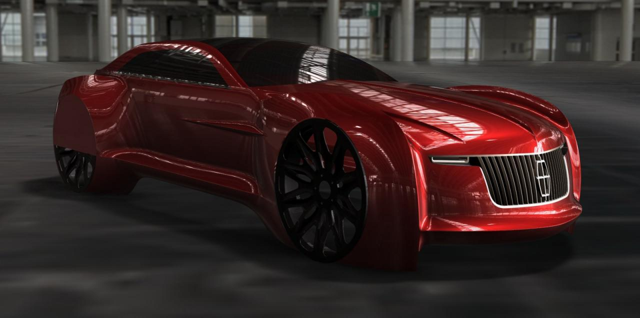 2025 Lincoln Continental EV Will the 2025 Lincoln Continental EV student project be a reality?