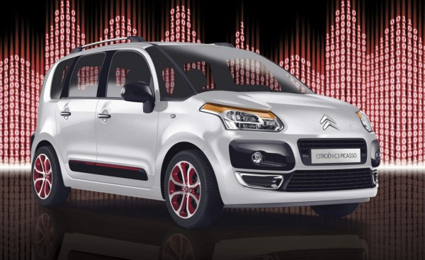 Citroën C3 Picasso Code 600x367 2012 Citroen C3 Picasso Code Special Edition – Energy Efficient and Aggressive in Outlook