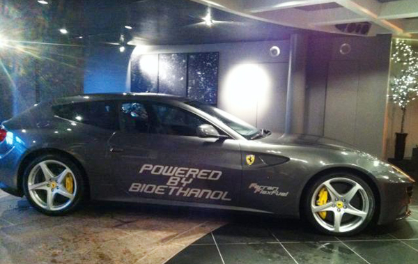 Ferrari FF with bio ethanol E85 conversion Ferrari FF with Produces 875bhp after Conversion