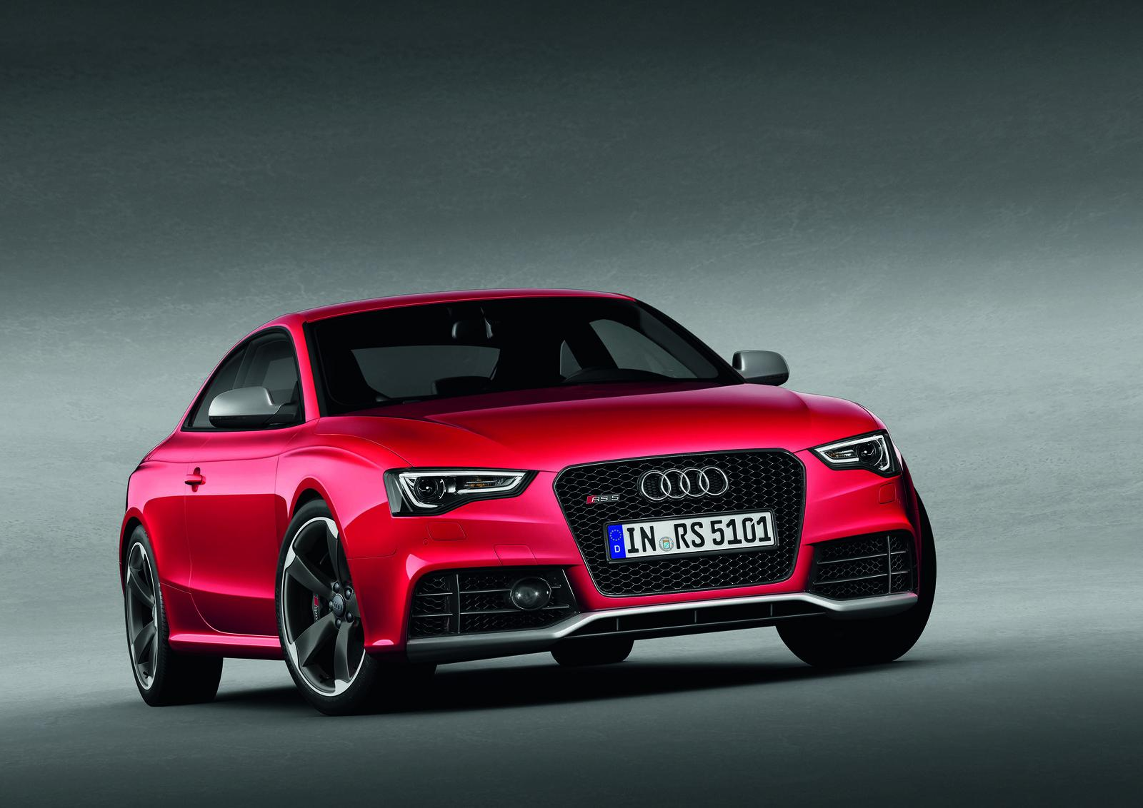 2012 Audi RS5 Coupe 2 2012 Audi RS5 Coupe with V8 Powerplant
