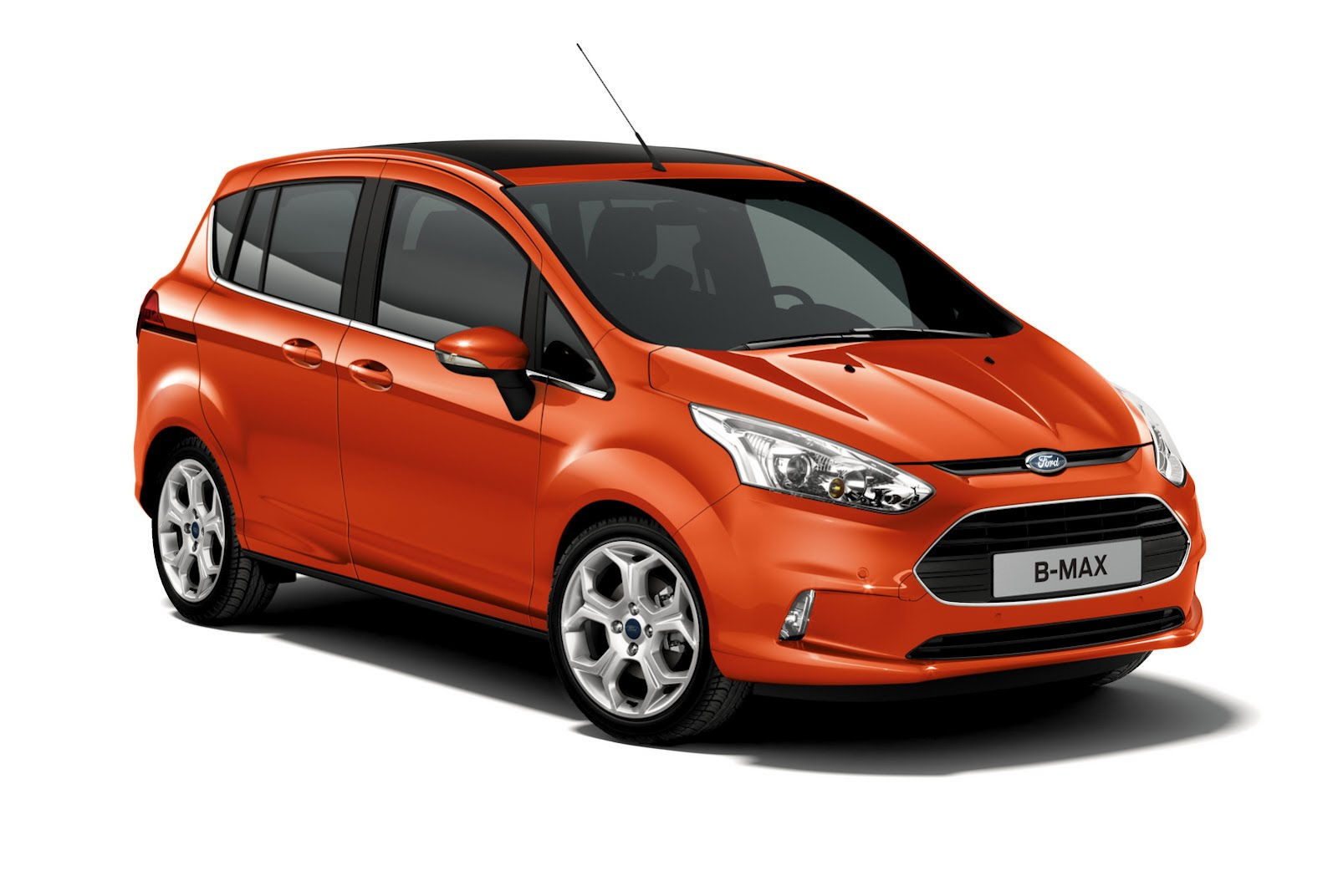 2012 Ford B MAX 2012 Ford B MAX: First Official Photo of Small MPV Released