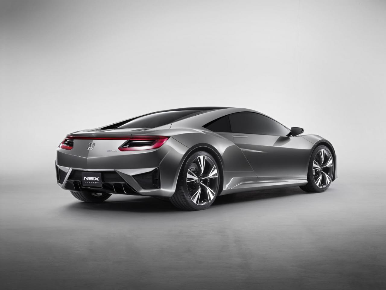 2012 Honda NSX Concept 2 Announcement for Earth Dreams engine by Honda