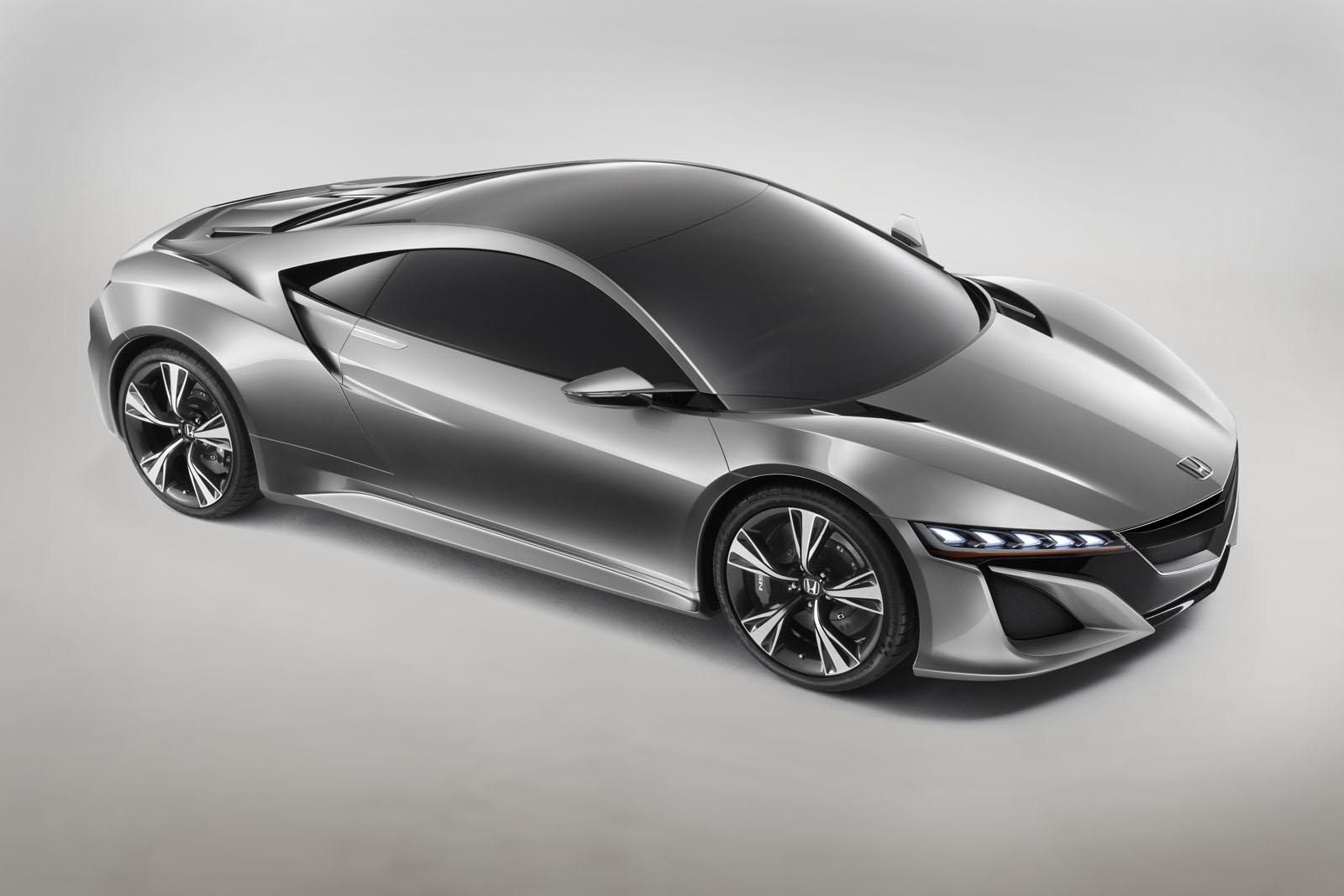 2012 Honda NSX Concept Announcement for Earth Dreams engine by Honda